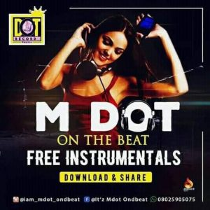 M Dot On The Beat – Electric Free Beat
