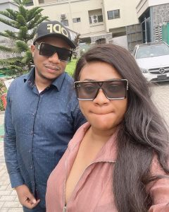 """""""Happy Father's Day To The Man Who Treats Me Like A Child"""" Nkechi Blessing Celebrates Hubby, Opeyemi"""